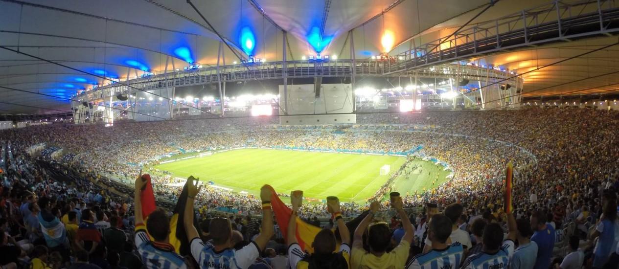 Turistas argentinos gastaram US$ 1,2 milhão nos primeiros dias de Copa, diz Visa Foto: Custódio Coimbra/15-06-2014