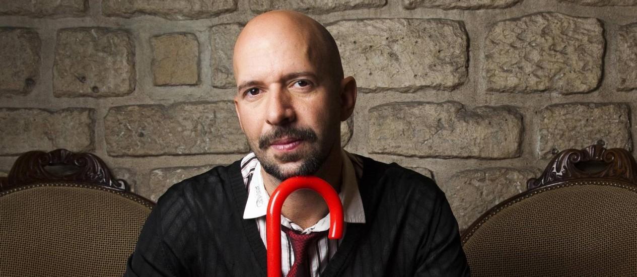 O jornalista e escritor Neil Strauss Foto: Divulgação / Philippe Matsas
