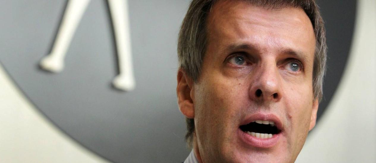 """Martín Redrado: """"Quando estamos doentes, devemos consultar os melhores médicos"""" Foto: Goh Seng Chong/Bloomberg News/16-11-2011"""
