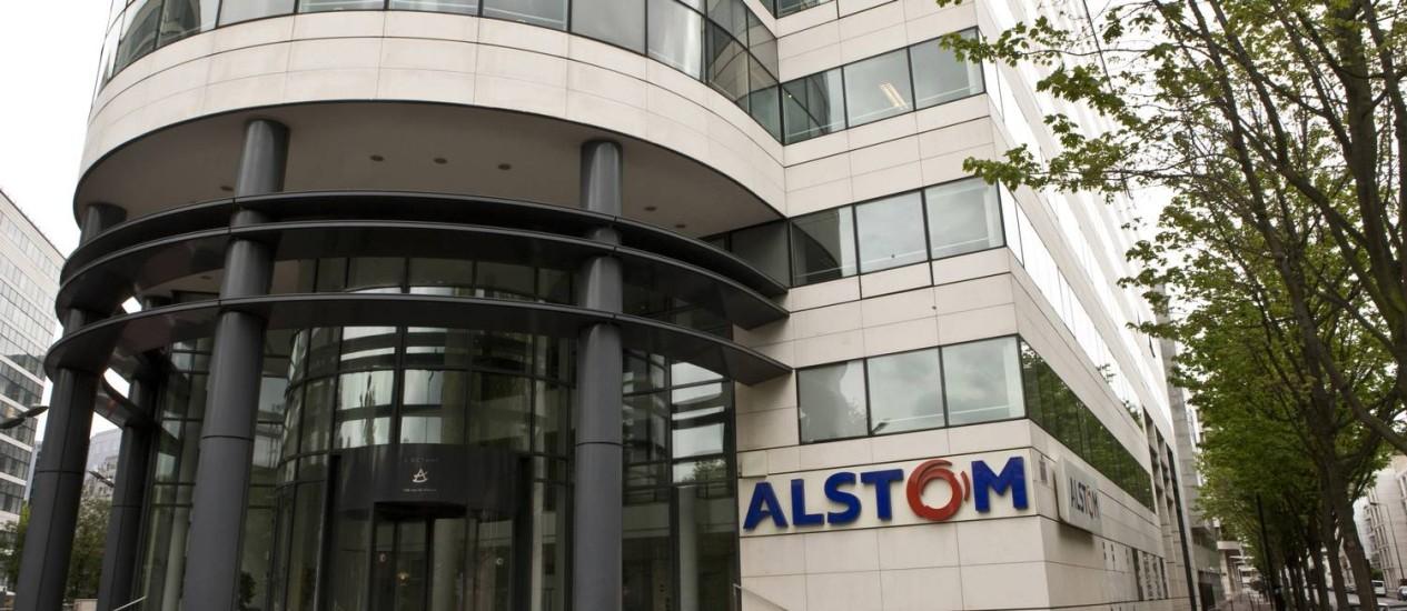 Governo exige participação para aprovar compra da Alstom pela GE Foto: Ivan Guilbert/Bloomberg