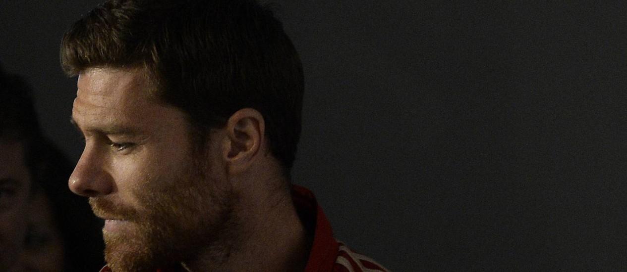 Xabi Alonso, atual volante da seleção espanhola Foto: AP