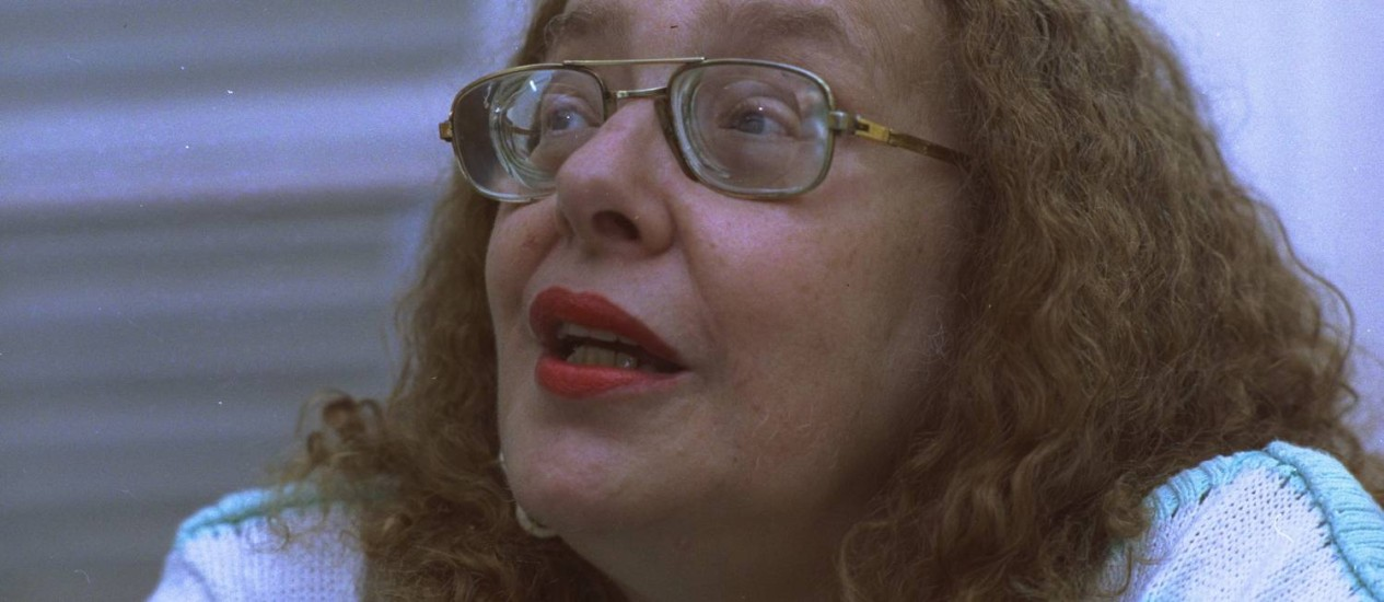 A escritora Rose Marie Muraro Foto: Márcia Foletto/28-01-1992