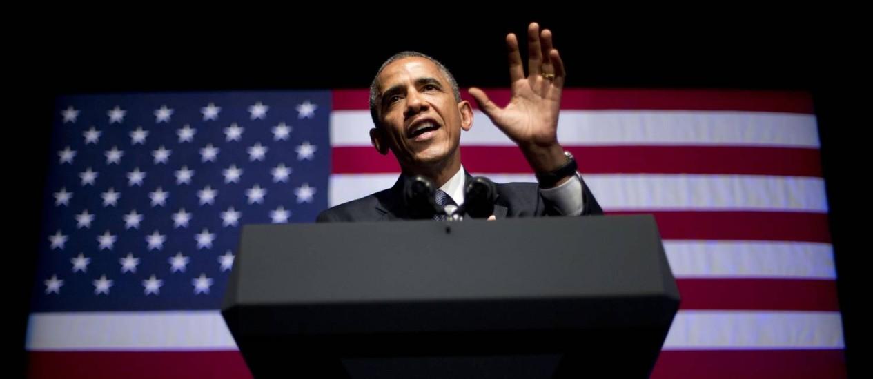 Direitos iguais. Obama cumpre promessa de alterar as regras que impedem benefícios para cônjuges homossexuais Foto: AP/Pablo Martinez Monsivais