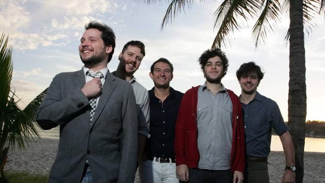 Grupo vencedor do Prêmio Multishow de Música Brasileira em 2012, Banda Tereza se apresenta na Casa O GLOBO no domingo Foto: Pedro Teixeira / O Globo