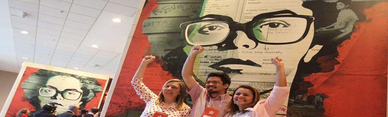 Educação e saúde. Com novas propostas, Dilma busca atender a reivindicações dos protestos de junho de 2013 Foto: Agência O Globo / André Coelho