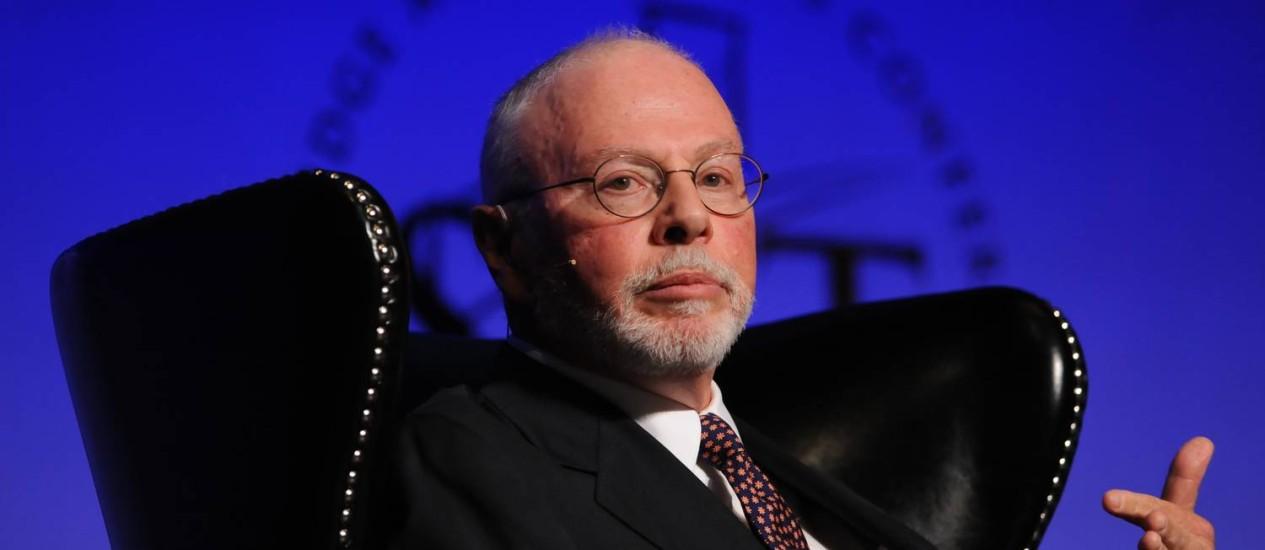 Paul Singer criou Elliott Management em 1977 com US$ 1,3 milhão de patrimônio da família Foto: Jacob Kepler/Bloomberg