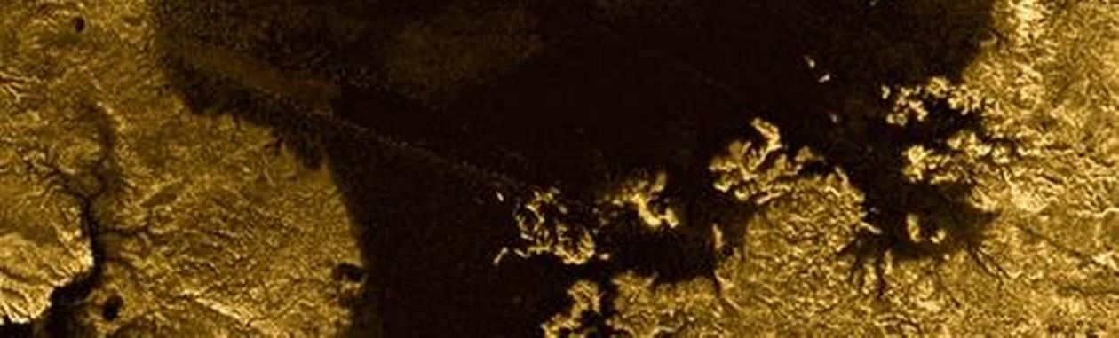 """Vulto foi chamado de """"ilha mágica"""" por pesquisadores que ainda investigam sobre do que se trataFoto: JPL-Caltech/ASI/Cornell/NASA"""