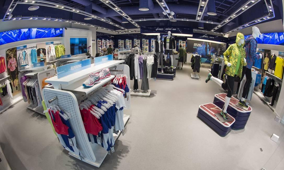 d179a83ec Inauguração no Rio: Asics abre sua primeira loja própria no mercado carioca  Foto: Divulgação