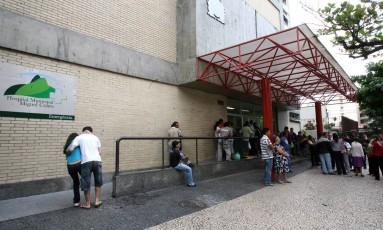 Fachada do Hospital Miguel Couto Foto: Guilherme Pinto / O Globo/Arquivo