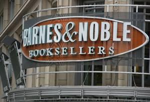 Apesar da crise no setor, a venda de livros físicos ainda é mais lucrativa para a Barnes & Noble Foto: Karen Bleier/AFP/30-04-2012