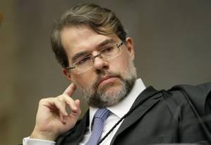 Ministro do Supremo Tribunal Federal Dias Toffoli Foto: STF