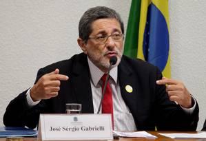 Ex-presidente da Petrobras Jose Sergio Gabrielli de Azevedo Foto: Ailton de Freitas / Agência O Globo