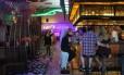 O restaurante mexicano Antojito's, na CityWalk do Universal Orlando Resort, tem bar de tequilas