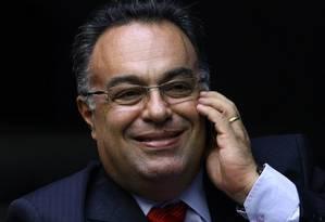 O deputado André Vargas é investigado por ter atuado em favor da Lobogen, empresa que seria de fachada do doleiro Alberto Youssef Foto: André Coelho / Agência O Globo