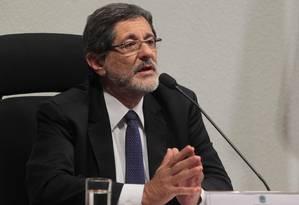 """Ex-presidente da Petrobras Jose Sergio Gabrielli de Azevedo afirmou que compra de Pasadena foi """"barata"""" Foto: Givaldo Barbosa / Agência O Globo"""