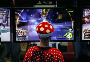 Mercado global de videogame cresce 8%, com gastos estimados para este ano de US$ 81,5 bilhões Foto: Patrick T. Fallon / Bloomberg/Patrick T. Fallon