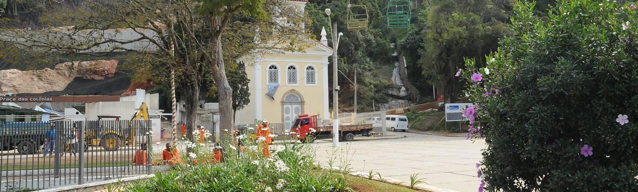 Inauguração do teleférico da Praça do Suspiro sinaliza a retomada na rotina da vida em Nova Friburgo Foto: Daniel Marcus / Divulgação