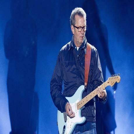 Eric Clapton toca em Porto Alegre, em 2011. Foto: JEFFERSON BERNARDES / AFP