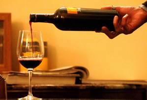 Pesquisa comparou quatro tipos de vinho tinto: Merlot, Malbec, Cabernet Sauvignon e Tannat Foto: Agência O Globo