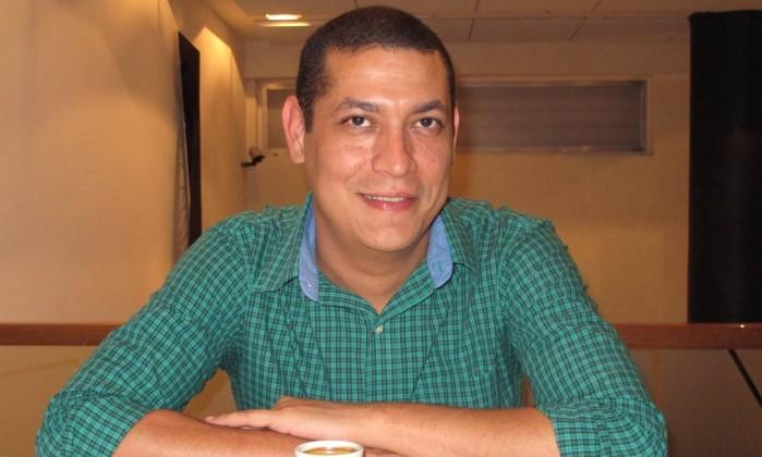Marco Aurélio Martins: envolvimento do pai no cuidados dos filhos é importante Foto: Mauro Ventura / O GLOBO