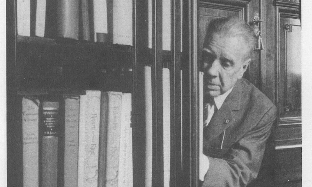 O escritor argentino Jorge Luis Borges devia a Victoria Ocampo boa parte do seu sucesso na Europa Foto: Divulgação