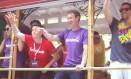 O próprio Mark Zuckerberg participou da parada do Orgulho LGBT em San Francisco no ano passado Foto: Reprodução