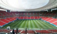 Estádio Mané Garrincha, em Brasília Foto: Greenleaf / Divulgação