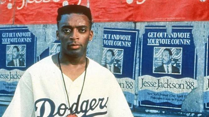 """Spike Lee em """"Faça a coisa certa"""", lançado em 30 de junho de 1989: divisor de águas Foto: Agência O Globo"""