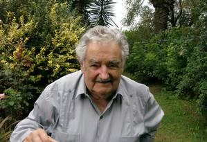 O presidente do Uruguai, José Mujica criticou a Fifa pela punição de Suárez Foto: Sergio Flaksman / O Globo