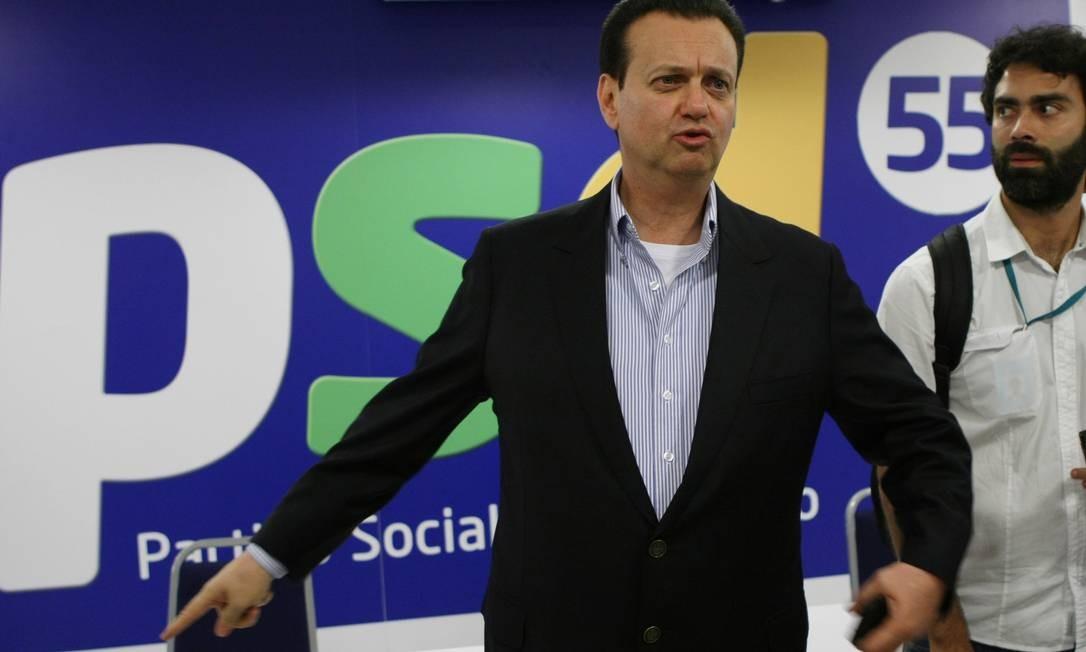 Ex-prefeito Gilberto Kassab será candidato ao Senado Foto: Michel Filho / O Globo