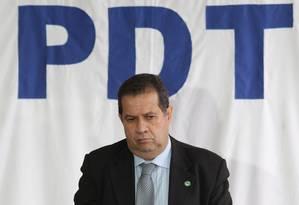 O presidente do PDT, Carlos Lupi Foto: André Coelho / Agência O Globo