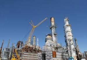 Refinaria Pasadena, da Petrobras: Petrobras teria adiantado US$ 30 bilhões à empresa belga Astra Oil antes de concluir as negociações da compra Foto: Divulgação/ Agência Petrobras / Arquivo