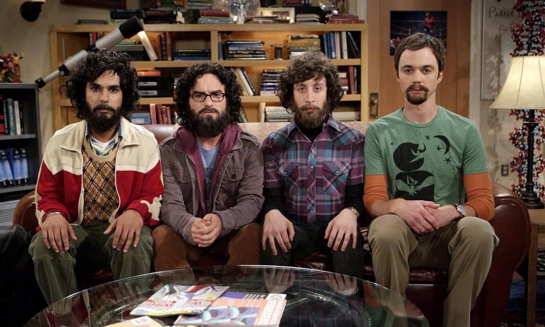 Elenco da série 'The Big Bang Theory' Foto: Agência O Globo
