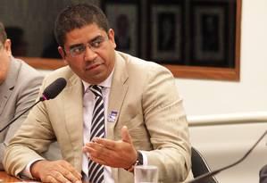 Leonardo Meirelles, da Labogen, diz que Vargas ajudou contato com ministério, mas nega ter pago ao deputado Foto: Ailton de Freitas / Agência O Globo