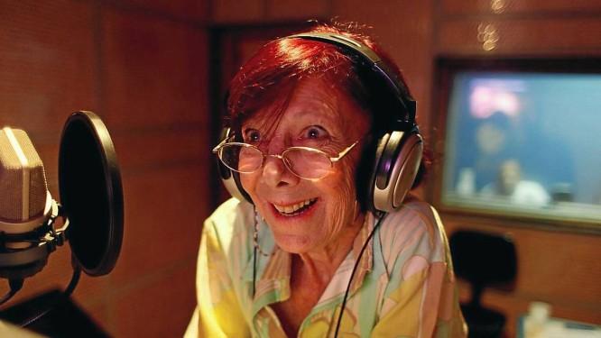 """Uma das pioneiras da dublagem carioca, Myrian Thereza deu voz à personagem Penélope Charmosa, do desenho animado """"Corrida Maluca"""