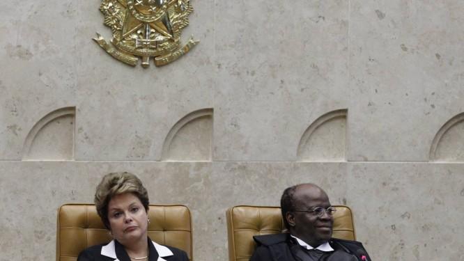 Substituto de Joaquim Barbosa só deve ser anunciado por Dilma após as eleições, em outubro Foto: André Coelho/22-11-2012 / Agência O Globo