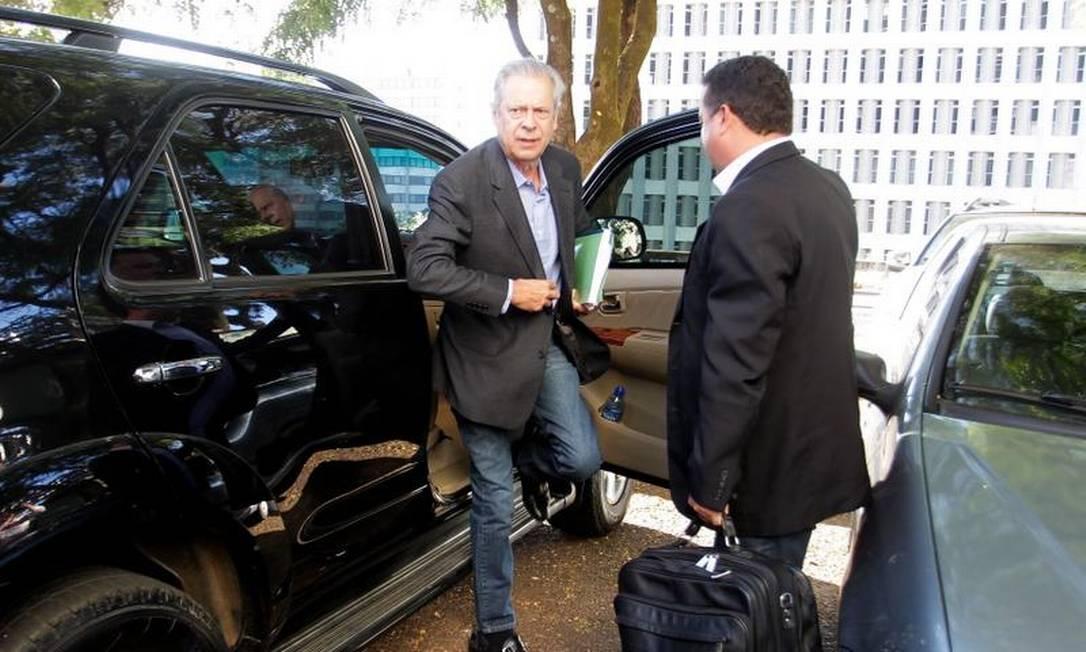 Petista vai trabalhar no escritório do advogado José Gerardo Grossi Foto: Ailton de Freitas / O Globo