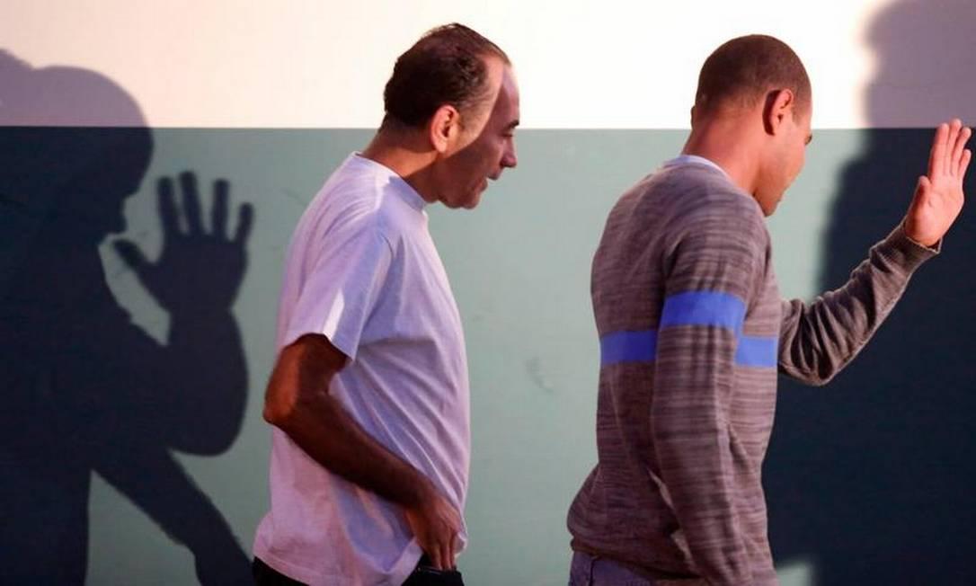 O mensaleiro João Paulo Cunha também saiu da Penitenciária da Papuda para trabalhar Foto: Jorge Willian / O Globo