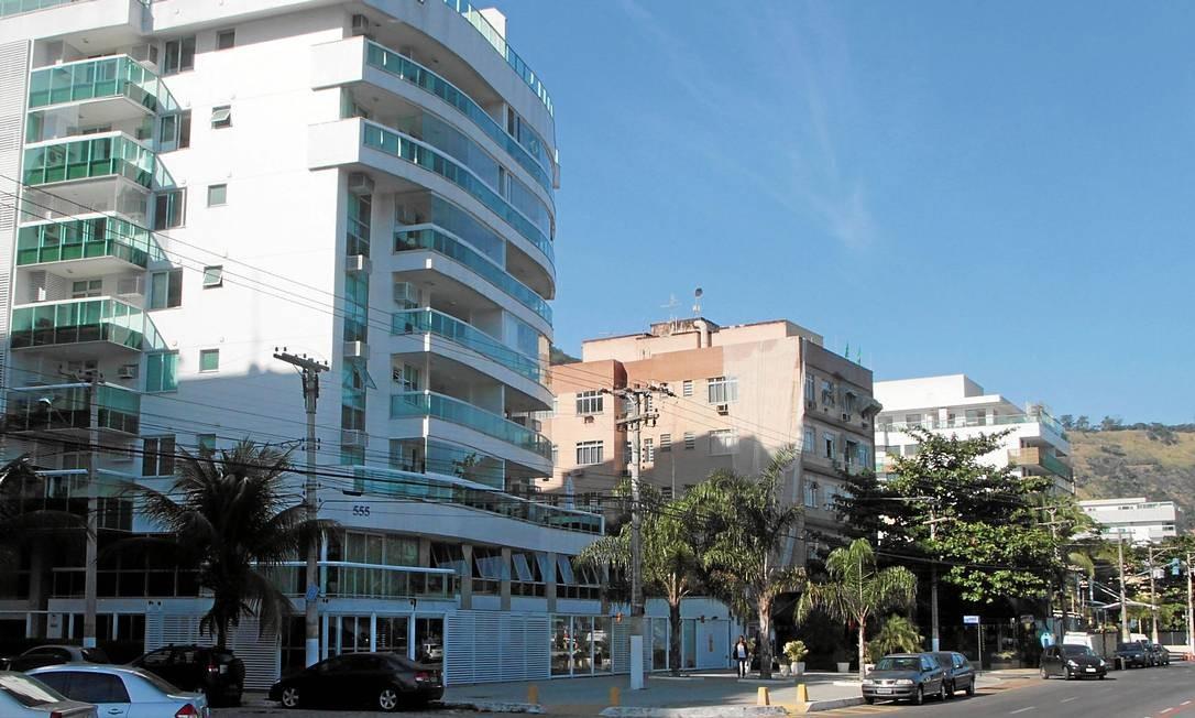 Os prédios de Charitas têm, em média, os valores mais altos da cidade: metro quadrado chega a R$ 13.100 Foto: Fernanda Dias