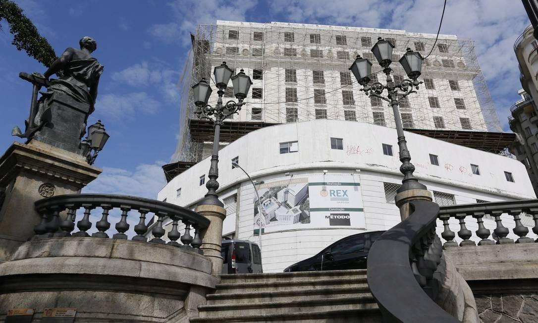 Comprado pelo grupo suíço Acron, o Hotel Glória deve voltar a operar às vésperas dos Jogos Olímpicos Foto: Marcos Tristão / Agência O Globo
