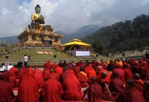 """Moradores do """"teto do mundo"""", tibetanos têm gene capaz de adaptar humanos a altitudes elevadas Foto: Diptendu Dutta / AFP"""