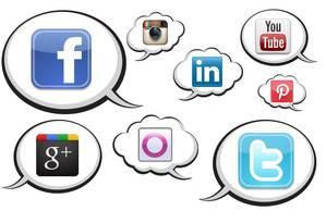 As redes sociais no centro da campanha Foto: Reproduçção de internet