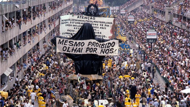 a93d4d3ab4c18 Desfile da Escola de Samba Beija-Flor de Nilópolis, com o enredo  Ratos