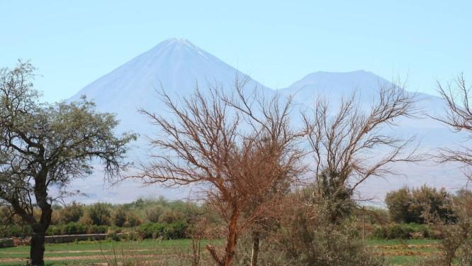 O cume do vulcão Licancabur foi uma das regiões pesquisadas Foto: Carla Lencastre/16-4-2008