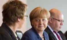 Merkel: polícia investiga nova suspeita de espionagem Foto: JOHN MACDOUGALL / AFP