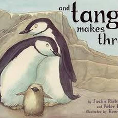 'And Tango Makes Three' conta a história de amor entre dois pinguins machos Foto: Divulgação