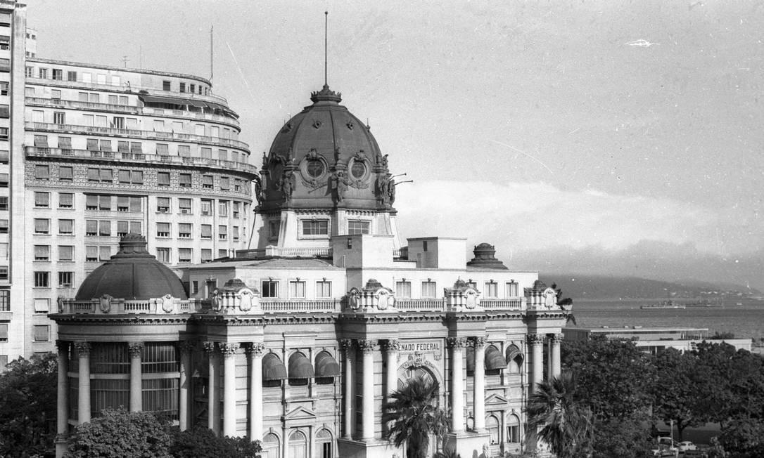 A fachada do Palácio Monroe Foto: Arquivo / Agência O Globo