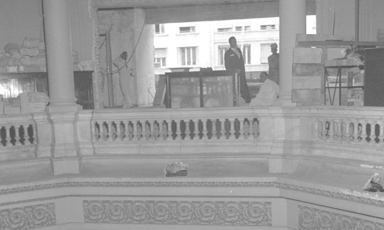 O interior do Palácio Monroe Foto: Arquivo / Agência O Globo