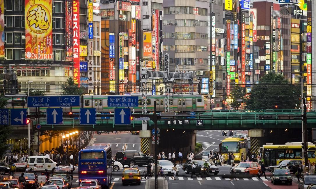 Tóquio ainda é a cidade mais populosa do mundo, com 38 milhões de habitantes Foto: Science Photo Library/Peter Menzel