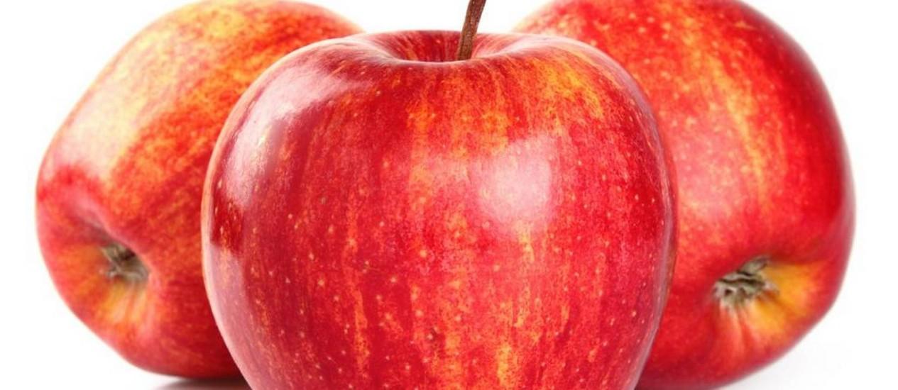 Basta uma maçã para uma vida melhor Foto: Reprodução